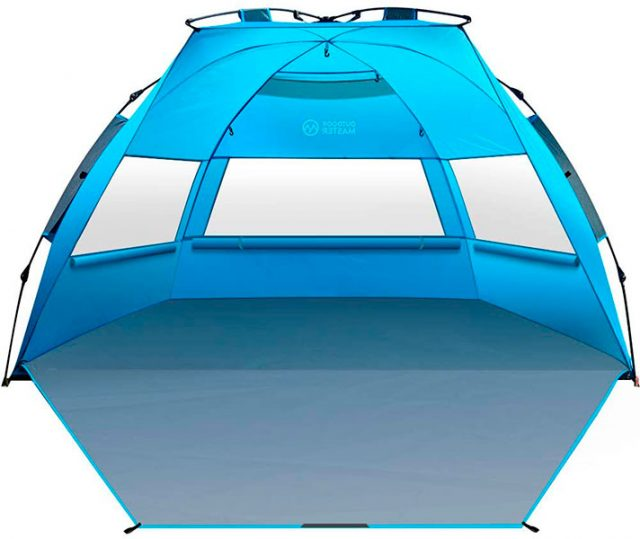 OutdoorMaster Pop Up 3-4 Person Beach Tent