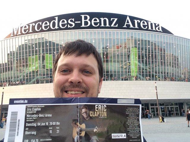 Berlin Eric Clapton