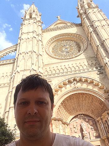 Gothic cathedral de Mallorca