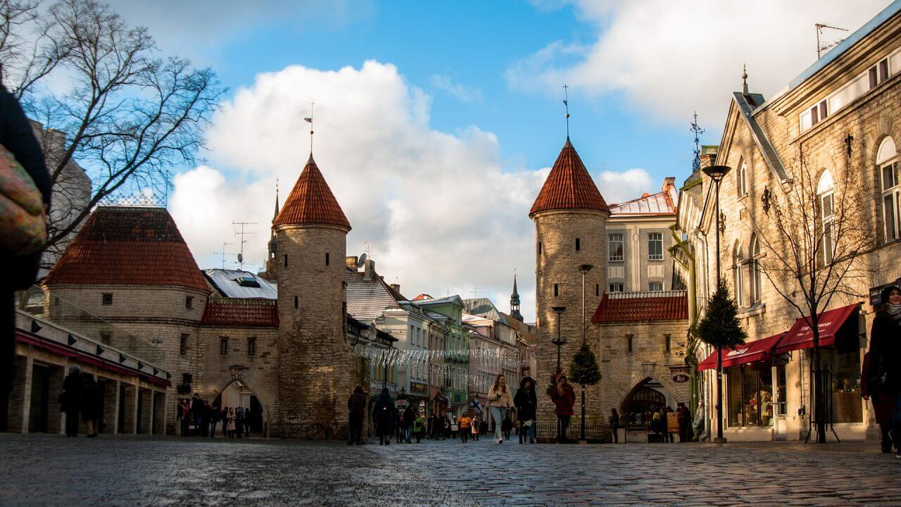 Tallinn old town – example of medieval Europe